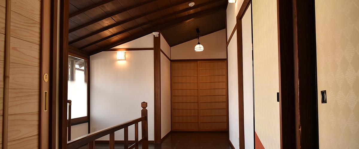 花月楼 廊下