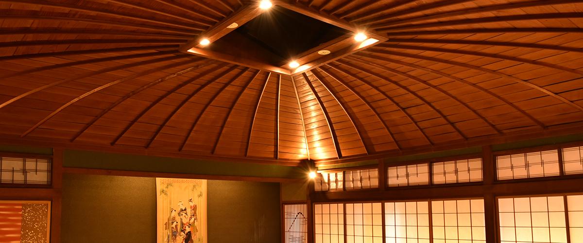 花月楼 傘天井